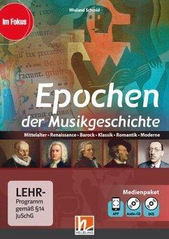 Epochen der Musikgeschichte, Multimediapaket + App