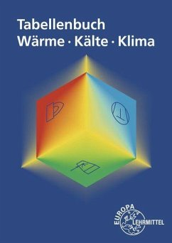 Tabellenbuch Wärme - Kälte - Klima - Bach, Ewald;Bertrand, Peter;Bierwerth, Walter