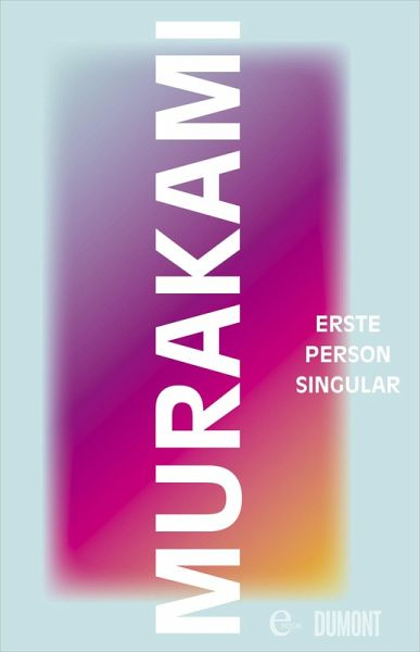 Erste Person Singular (eBook, ePUB)