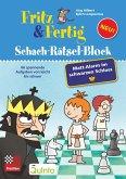 Fritz&Fertig Schach-Rätselblock: Mattalarm im schwarzen Schloss