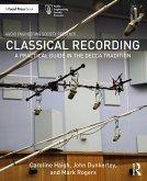 Classical Recording (eBook, PDF)