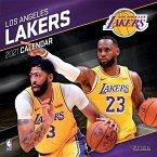 Los Angeles Lakers 2021 12x12 Team Wall Calendar