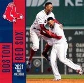 Boston Red Sox 2021 12x12 Team Wall Calendar