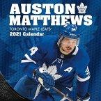 Toronto Maple Leafs Auston Matthews 2021 12x12 Player Wall Calendar