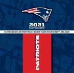 New England Patriots 2021 Box Calendar