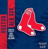 Boston Red Sox 2021 Box Calendar
