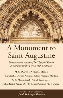 A Monument to Saint Augustine (eBook, PDF)