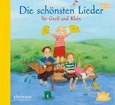Die schönsten Lieder für Groß und Klein, 2 Audio-CD