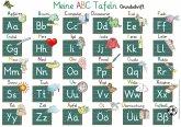 Meine ABC Tafeln in Grundschrift (von A-Z,Ä,Ö,Ü und ß)
