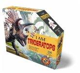 Madd Capp Shape Puzzle Junior Triceratops 100 T.