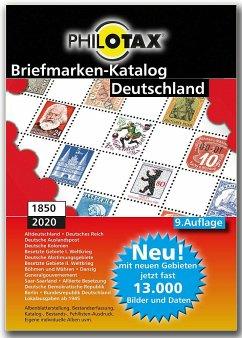 Deutschland Briefmarkenkatalog 1849 - 2020 9. Auflage