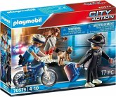 PLAYMOBIL® 70573 Polizei-Fahrrad: Verfolgung des Taschendiebs