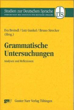 Grammatische Untersuchungen (eBook, PDF)
