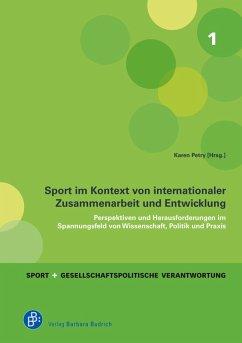 Sport im Kontext von internationaler Zusammenarbeit und Entwicklung (eBook, PDF)