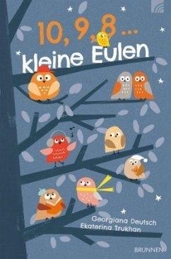 10, 9, 8 ... kleine Eulen (Restauflage) - Deutsch, Georgiana