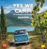 Yes we camp! Europa (eBook, ePUB)