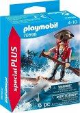 PLAYMOBIL® 70598 Pirat mit Floß und Hammerhai