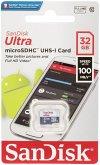 SanDisk Ultra Lite microSDHC 32GB 100MB/s SDSQUNR-032G-GN3MN