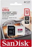 SanDisk Ultra microSDHC 32GB 120MB/s.Adapt.SDSQUA4-032G-GN6IA