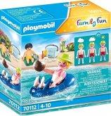 PLAYMOBIL® 70112 Badegast mit Schwimmreifen