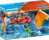 PLAYMOBIL® 70144 Seenot: Kitesurfer-Rettung mit Boot