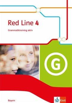 Red Line 4. Ausgabe Bayern. Grammatiktraining aktiv Klasse 8