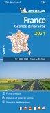 Michelin Frankreich Fernrouten 2021