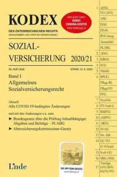 KODEX Sozialversicherung 2020/21, Band I - Brameshuber, Elisabeth