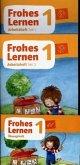 Frohes Lernen 1. Arbeitsheft in Druckschrift, Teil 1, 2 und 3 Klasse 1. Ausgabe Bayern ab 2021