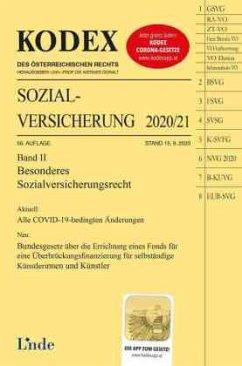 KODEX Sozialversicherung 2020/21, Band II - Brameshuber, Elisabeth