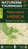 Wanderkarte Nationalpark Hainich