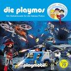 Die Playmos, Folge 72: Ein Geheimcode für die Galaxy Police (Das Original Playmobil Hörspiel) (MP3-Download)