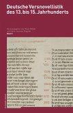 Deutsche Versnovellistik des 13. bis 15. Jahrhunderts (eBook, PDF)