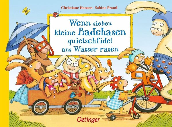 Buch-Reihe Wenn sieben Hasen