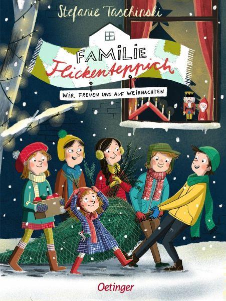 Buch-Reihe Familie Flickenteppich