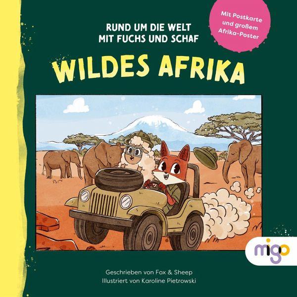Buch-Reihe Rund um die Welt mit Fuchs und Schaf