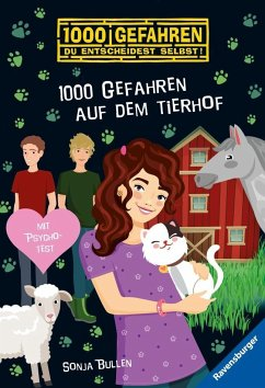 1000 Gefahren auf dem Tierhof / 1000 Gefahren Bd.52 (Mängelexemplar) - Bullen, Sonja