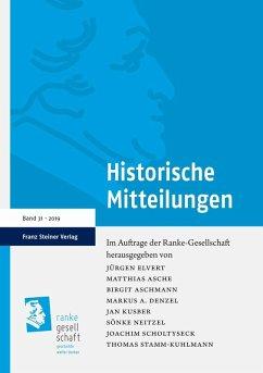 Historische Mitteilungen 31 (2019) (eBook, PDF)