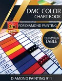 DMC Color Chart Book for Diamond Painting