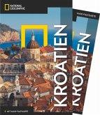 NATIONAL GEOGRAPHIC Reiseführer Kroatien mit Maxi-Faltkarte (Mängelexemplar)
