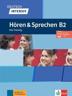 Deutsch intensiv Hören & Sprechen B2. Buch + Audio - Karnowski, Pawel