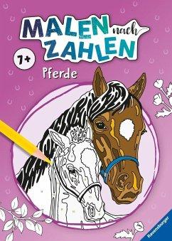 Malen nach Zahlen: Pferde (Mängelexemplar)