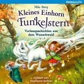 Kleines Einhorn Funkelstern. Vorlesegeschichten aus dem Wunschwald (MP3-Download)