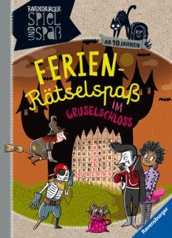 Ferien-Rätselspaß im Gruselschloss (Mängelexemplar) - Richter, Martine