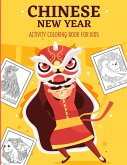 Chinese New Year Activity Coloring Book For Kids