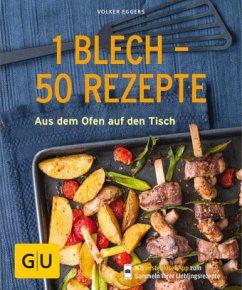1 Blech - 50 Rezepte (Mängelexemplar) - Eggers, Volker