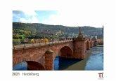 Heidelberg 2021 - Edizione Bianca - Timokrates calendari da parete, calendari fotografici - DIN A3 (42 x 30 cm)