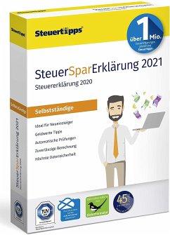 SteuerSparErklärung Selbstständige 2021 (für das Steuerjahr 2020)