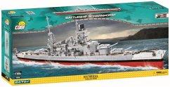 COBI Historical Collection 4818 - Scharnhorst WWII Schlachtschiff, 2.472 Bauteile