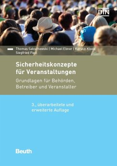 Paket Sicherheitskonzepte für Veranstaltungen (eBook, PDF)